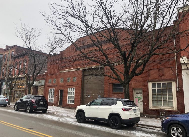 Lawrence Hall on Butler St. is planned as a food hall with five restaurants and a bar