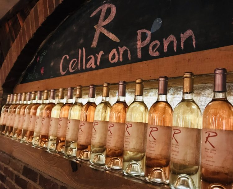 Cellar on Penn in the Strip District is a natural extension of R Wine Cellar