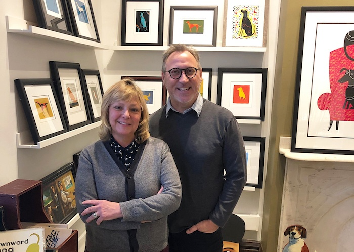 These empty nesters transformed a Carnegie rectory into a home, office and Double Dog Studios