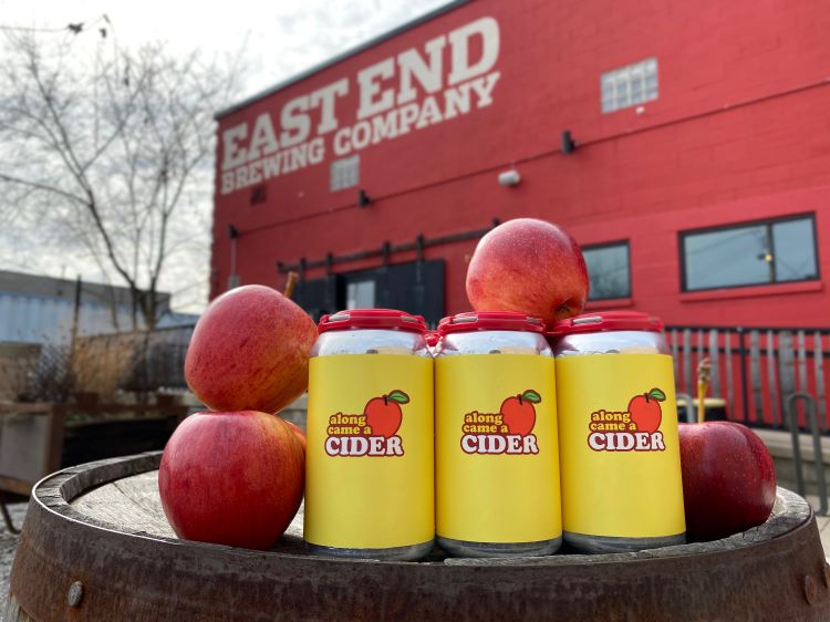 East End Brewing to sell cider in cans and kegs