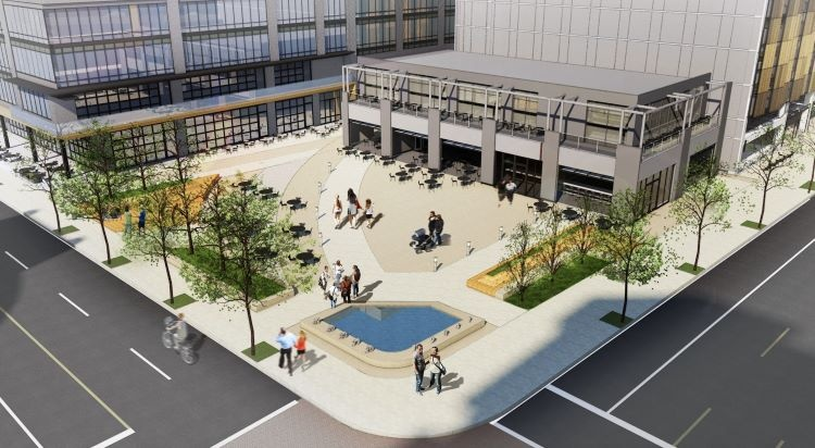 Updated: Planning commission questions the point system on Continental Real Estate's mixed-used complex and outdoor plaza