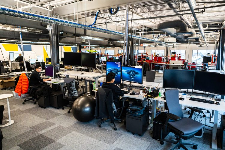 Facebook shows off its new office in the Strip District, focused on advanced avatar research