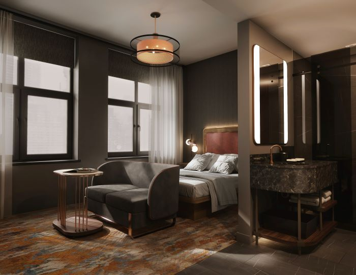 The Industrialist, a 124-room boutique hotel, will open in the Arrott Building Downtown