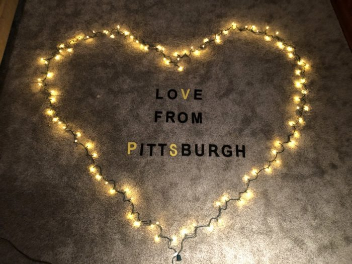 Pittsburgh is throwing an 'Illumination-Ovation' to honor workers on the front lines. #LovefromPGH