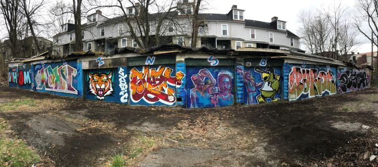 Graffiti artists are turning blighted Wilkinsburg properties into colorful canvases