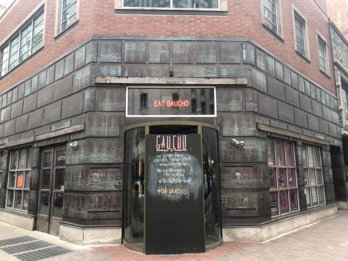 Gaucho's back in business. The new Downtown space opens for takeout today