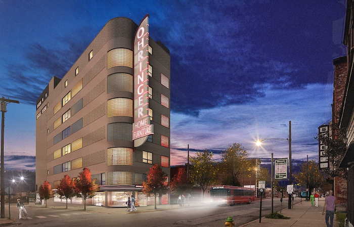 Braddock's historic Ohringer Building will feature 37 affordable-rate artist residences