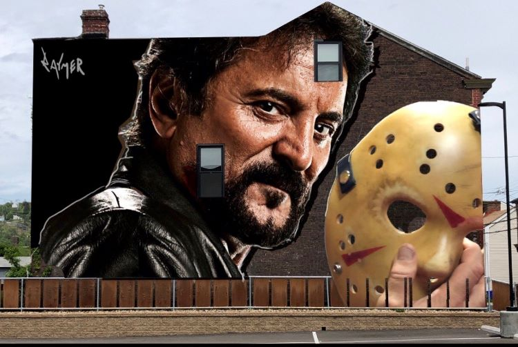 Mural artist Jeremy Raymer planning a tribute to special effects legend Tom Savini