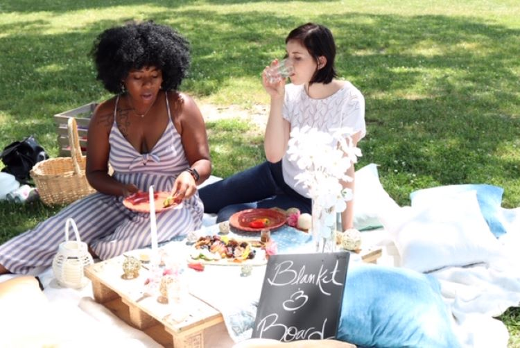 Blanket & Board specializes in simple, yet sophisticated, picnics