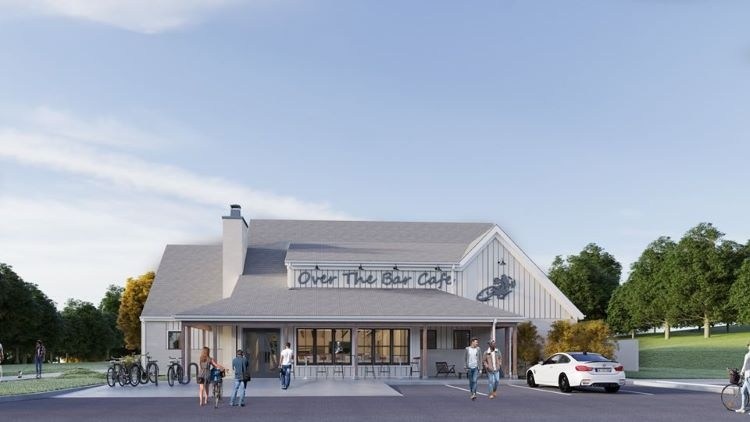 Over The Bar Bicycle Café opening its third location, in South Fayette by parks and trails