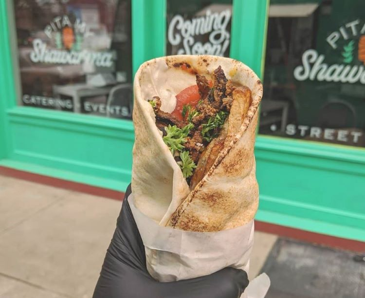 The popular food truck Pita My Shawarma is opening a Lawrenceville storefront
