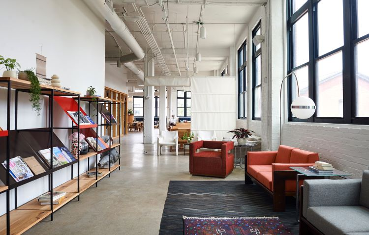 Beauty Shoppe opens Arsenal Motors coworking space in a historic Lawrenceville building
