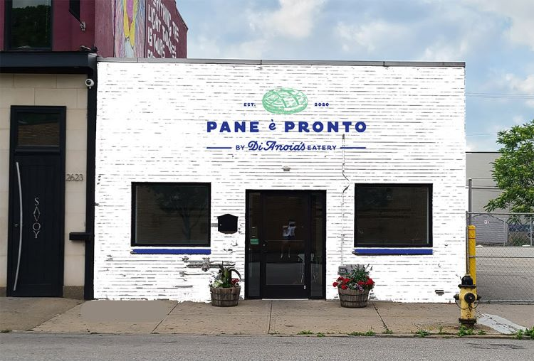 DiAnoia's Eatery owners are opening Pane è Pronto, a bread, takeout and catering kitchen in the Strip