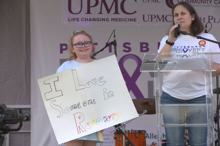 Walking for -- and talking about -- recovery, and why it matters