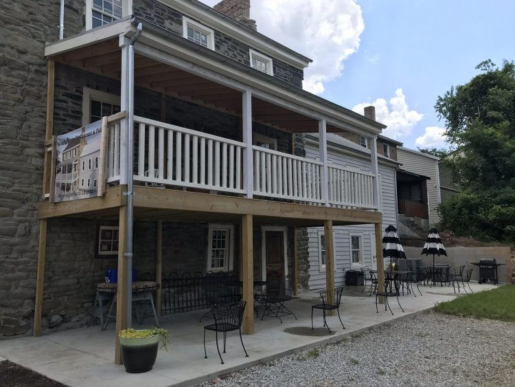 The Woods House Historic Pub is opening soon in Hazelwood with 66 houses planned nearby