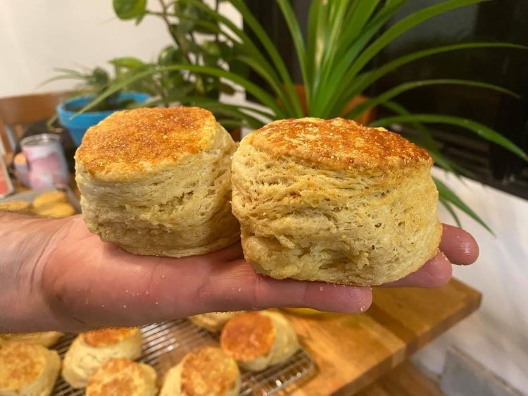Soul Biscuit, a pedal-powered food cart, is on a roll