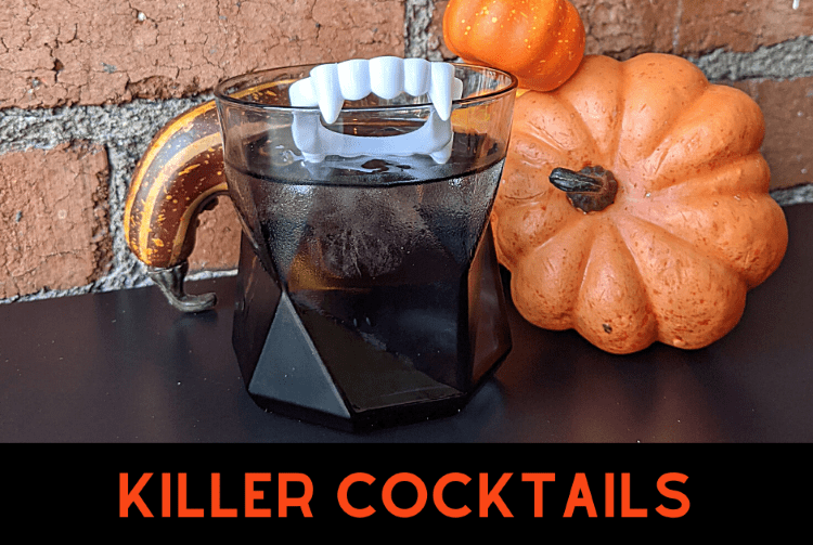 Spooky (boo)ze and brews for Halloween. Killer cocktail kits, anyone?
