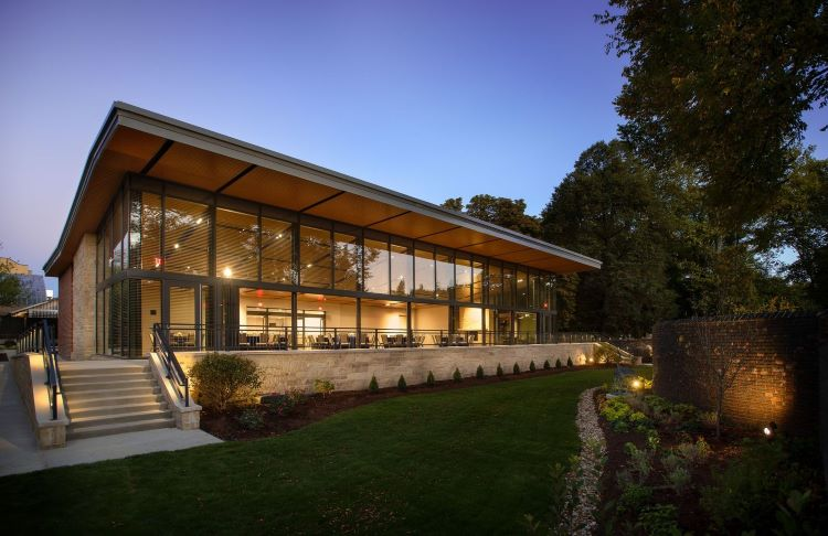 The Garden Room at the National Aviary provides a new, socially distanced event venue