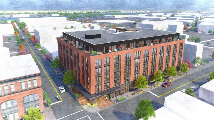 Oxide Development proposes 114 new apartments in the Strip District