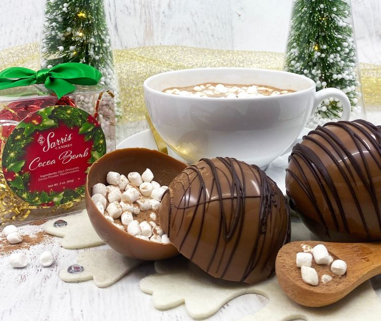 Hot chocolate bombs, the festive food fad of 2020, go viral in Pittsburgh and beyond