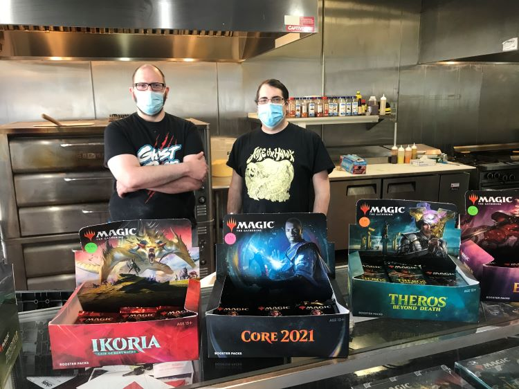 After battling Covid and unspeakable loss, Black Lotus Pizza is back in the game