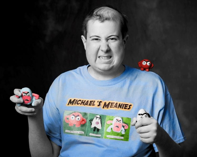Michael's Meanies distributes free stress toys to children's hospitals around the world