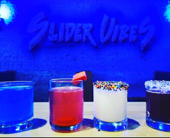 Slider Vibes serving ice cream shots, spiked milkshakes and bite-sized sandwiches in Market Square