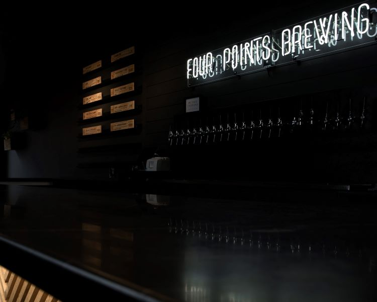 Feelin' lucky: Four Points Brewing taproom opens in the old Shamrock Inn