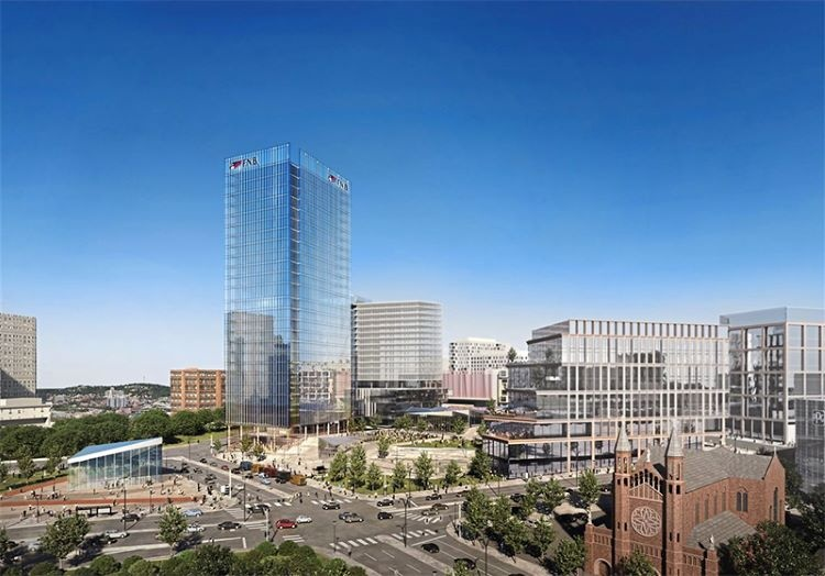 FNB moving forward with office tower at former Civic Arena site, and more in ETC.
