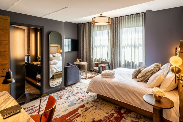 Newly opened Industrialist Hotel puts a modern spin on Pittsburgh's past