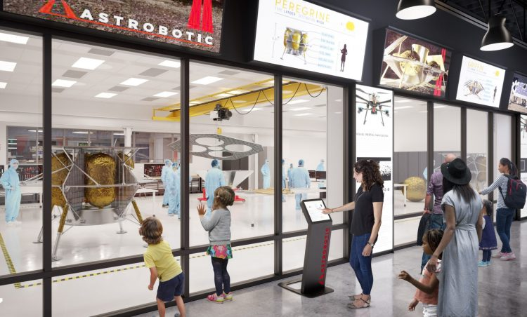 Moonshot Museum nearing liftoff at Astrobotic on the North Side