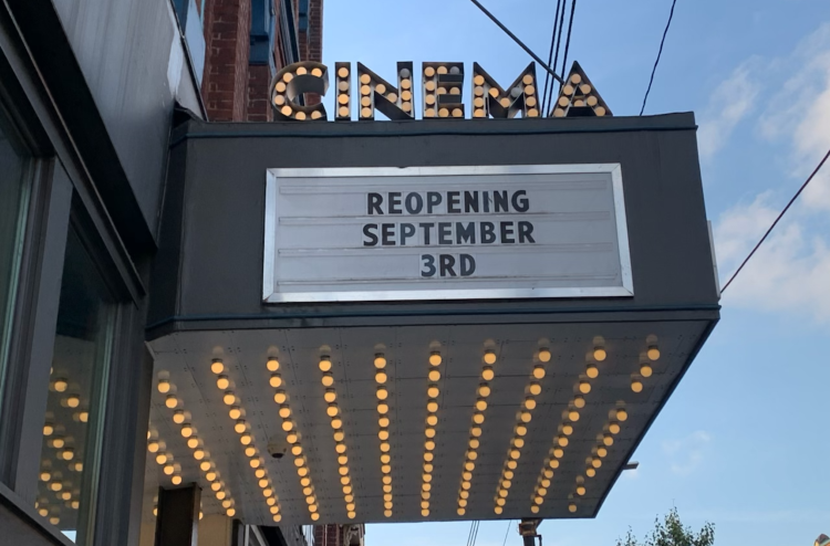 Row House Cinema is reopening, chef vies to be Queen of Seafood and more in ETC.
