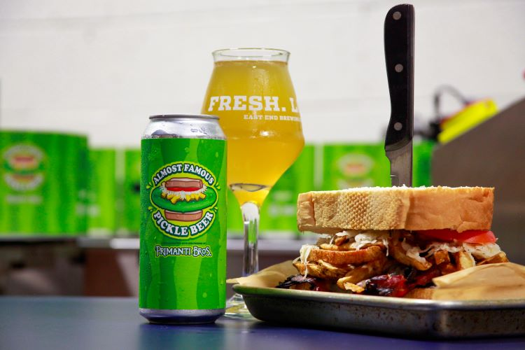 Forget pickles with your Primanti sandwich and try East End Brewing Pickle Beer, and more in ETC