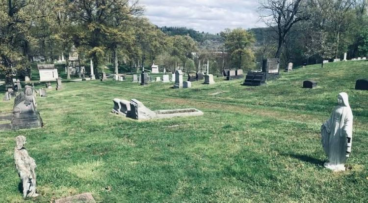 Life goes on at Pittsburgh cemeteries during the pandemic