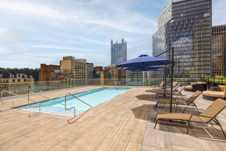 Redeveloped Kaufmann's opens with 311 apartments and a rooftop pool