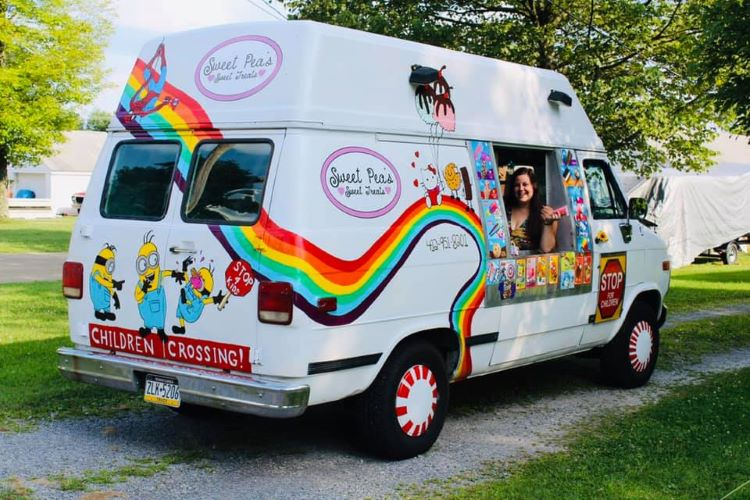 Sweet Pea's ice cream truck is on a heartwarming mission