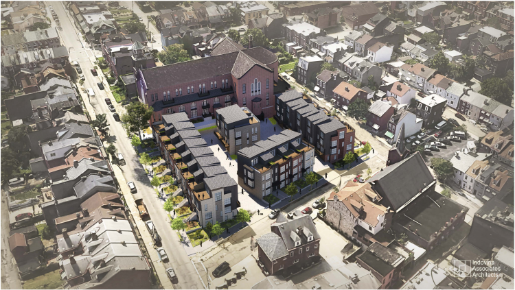 Holy Family Church in Lawrenceville to become 25 residential units with 21 townhouses