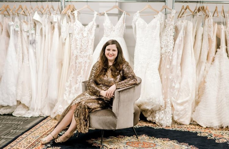 Say yes to the dress at Bridal Maven, a wedding gown resale shop in Dormont